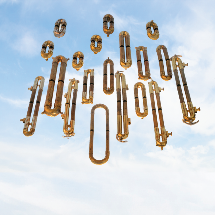 Trombones invading from the sky